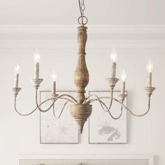 Quick Methods For Easy French Country Decor Inspiration For 2012 - Look And Decor French Country Lighting, French Country Chandelier, French Country Rug, French Country Kitchens, French Country Bedrooms, Farmhouse Chandelier, White Chandelier, Wood Chandelier, French Country Decorating