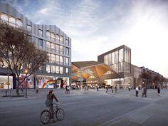 FaulknerBrowns Unveils Plan to Re-develop Bangor Waterfront