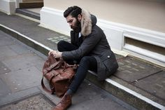 In our latestStreet Style snap we capture Scottish model and blogger Christopher John Millington in an outfit that combines his penchant for slim, tailored silhouettes with the warmth of a puffy jacket necessary for the colder months ahead. Known for his perfectly groomed beard, literal handful of tattoos and refined personal style, the author of …