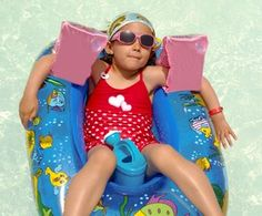 """Looking for summer pool toys? """"Inflatable"""" Usually = Toxic PVC Plastic via @thesoftlanding"""