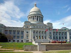 Arkansas State Capitol Building (Little Rock, Pulaski County, Arkansas)