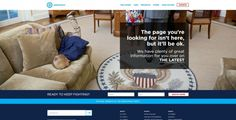 Democrats 404 Page Itll Be Ok, 404 Pages, Keep Fighting