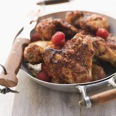 Pollo e... Lampo di genio: lamponi!   #LeIdeediAIA #AIA #pollo #lamponi #secondo #secondi #yum  #yummy #food #foodie #love #like #pollo