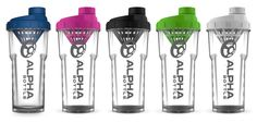 The Alpha Bottle was born to be the ultimate shaker. Simple. Uncompromised. Effective.