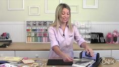 How to Make a Flip Card  with Stephanie Barnard & Sizzix