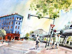 Goerlitzer Bahnhof by omar.paint, via Flickr