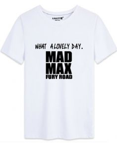 Mad Max Fury Road t shirt XXXL short sleeve t shirts for men cotton -