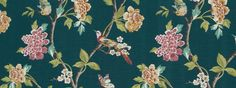 Helene Floral | Jade - Fabric - All products | ROBERT ALLEN