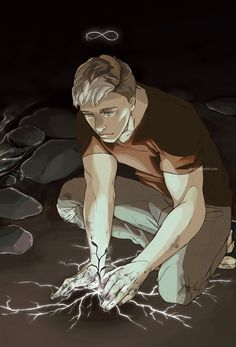 Adam Parrish sacrificeing himself for Cabeswater