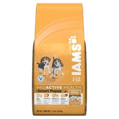 IAMS PROACTIVE HEALTH Smart Puppy Dry Puppy Food 5.7 Pounds *** For more information, visit now : Dog food types