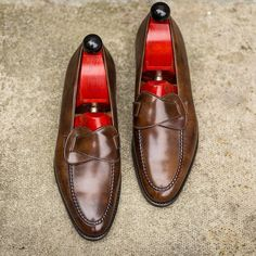 J.FitzPatrick Footwear - The Hawthorne MTO in Copper Museum …..