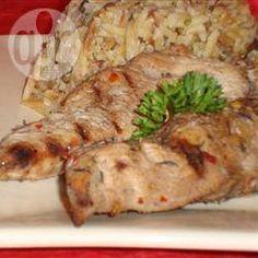 Poulet mariné à la jamaïcaine @ allrecipes.fr