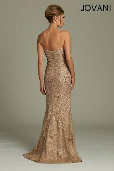 Strapless Jovani Gown
