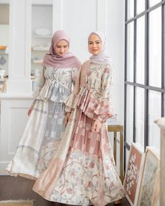 Casual Hijab Outfit, Hijab Chic, Elegant Dresses, Casual Dresses, Maxi Dresses, Modest Fashion, Fashion Dresses, Moslem Fashion, Batik Fashion