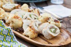 Paleo Pesto Prosciutto Chicken Roulade #SCD #Gluten Free | Against All Grain