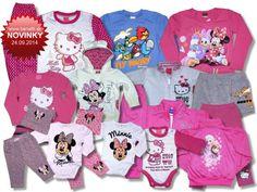 Nový tovar v ponuke od 24.09.2014 - Detské oblečenie Disney, Hello Kitty, Monster High, Losan.. - Internetový obchod - benatti.sk