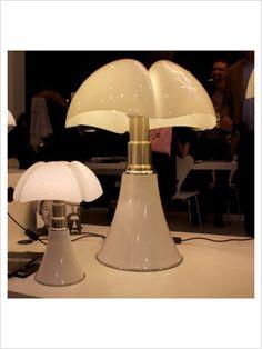 Lampe Blanc LED H35cm - MINI PIPISTRELLO | LED and Minis