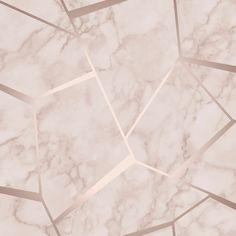 FRACTAL GEOMETRIC MARBLE WALLPAPER ROSE GOLD / PINK - FINE DECOR FD42264 5011419422647 | eBay
