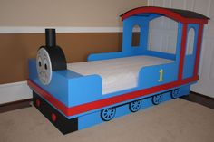 thomas+the+train+twin+bed | Dowden Custom Woodworking - Photo Gallery
