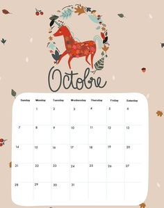 October 2018 iPhone Calendar HD Wallpapers: Huge collection of high definition wallpaper calendars for the Apple iPhone and Android smartphone background available here in wide range. October Calendar, Blank Calendar, Calendar 2018, Printable Calendar Template, Printable Planner, Printables, Calendar Wallpaper, Iphone Wallpaper, Calendar Design