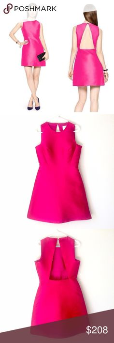 HPNWT Kate Spade Dress -Offers Welcome This is a brand new Kate Spade peek-a-boo Dress in Sweetheart pink. Absolutely stunning! It has a cut out back and hidden zipper on the side for easy wearability. Size: 8. Brand new with tags. Comes from a smoke free home. Cover pic courtesy Kate Spade website. Reasonable offers will be accepted. kate spade Dresses