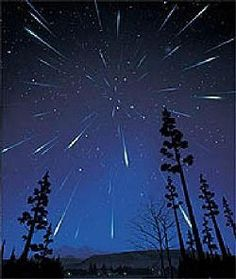 Watch a meteor shower from the middle of nowhere or on a rooftop :D