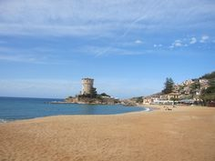 Campese beach in Spring, Giglio Island, #maremma, #tuscany, #italy