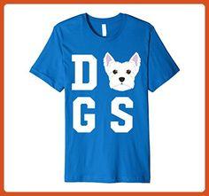 Mens West Highland Terrier Dog Love - Dogs T-Shirt Medium Royal Blue - Animal shirts (*Partner-Link)
