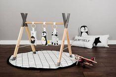 Modern Wooden Baby Gym soft Gym animals Toys / Play Gym / #babytoy