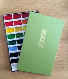 u ZouZou: Moje první akvarelové barvy