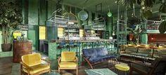Bar Botanique Cafe Tropique / Studio Modijefsky