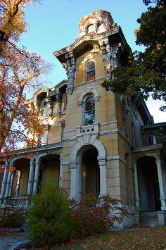 James Lee House. Memphis, TN. Edward C. Jones & Mathias H. Baldwin. Second Empire style.