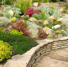 Rock garden design ideas - homes & gardens, Rock gardens can bring a natural, rugged beauty to any yard, including those with steep hillsides or other difficult growing conditions. Description from rejigdesign.com. I searched for this on bing.com/images