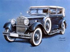 paintings of classic cars - Bing images