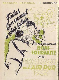"""la Croisade de l'Air pur , magazine """"Notre Province"""", 1943 - Bfm Limoges"""
