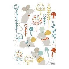 wald kindergarten eichh rnchen print eichh rnchen malerei wald tier animal alphabet print. Black Bedroom Furniture Sets. Home Design Ideas