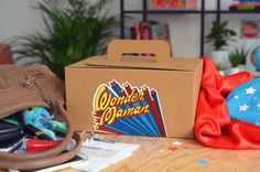 Coffret Wonder Maman par The PopCase