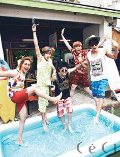 B1A4 // CeCi Korea // July 2013
