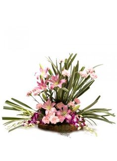 This product includes a basket arrangement of 20 mix exotic flowers through which you can express a feeling of extra love , care & affection.  http://bookurgift.com/1384-modern-trance