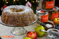 Chef Seth Raphaeli makes his Grandmother's famous Apple Cake! Tune in to Home and Family weekdays at 10/9c on Hallmark Channel!