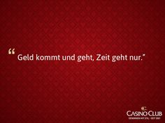 #Zitate #CasinoClub