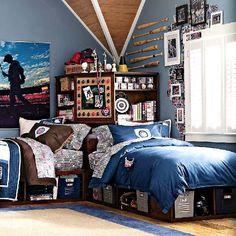 Inspirational Teenage Boy Room Idea