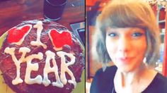 Calvin Harris rules out working with Taylor Swift Taylor Swift And Calvin, Taylor Swift Style, Snapchat Cake, Calvin Harris, Brithday Cake, Mark One, First Anniversary, Birthday Candles, Pretty Girls