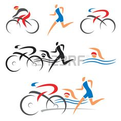 Find Icons Symbolizing Triathlon Swimming Running Cycling stock images in HD and millions of other royalty-free stock photos, illustrations and vectors in the Shutterstock collection. Cycling Tattoo, Bicycle Tattoo, Bike Tattoos, Bicycle Art, Cycling Art, Road Cycling, Tribal Hip Tattoos, Triathlon Tattoo, Ironman Tattoo