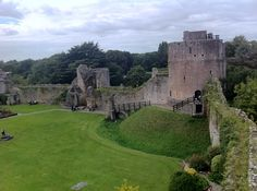 It is supposedly haunted by a menagerie of ghosts, including a grey lady and a poltergeist. Scary Places, Places To Go, Welsh Castles, Beyond The Border, Destination Imagination, Places Worth Visiting, Lady Grey, Back In Time, South Wales