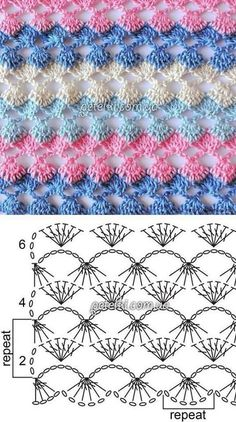 Watch This Video Beauteous Finished Make Crochet Look Like Knitting (the Waistcoat Stitch) Ideas. Amazing Make Crochet Look Like Knitting (the Waistcoat Stitch) Ideas. Hexagon Crochet Pattern, Crochet Shawl Diagram, Crochet Stitches Chart, Crochet Motifs, Crochet Blanket Patterns, Knitting Stitches, Knitting Patterns, Crochet Doilies, Crochet Blankets