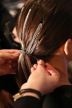 Christian Siriano—Christian Siriano in 2020 Bride Hairstyles, Cool Hairstyles, Coachella Hair, Fairy Hair, Hair Jewels, Photoshoot Makeup, Editorial Hair, Festival Hair, Hair Creations