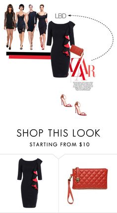 """""""Be awesome"""" by theitalianglam ❤ liked on Polyvore featuring LBD"""