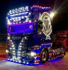 Cool Trucks, Big Trucks, Customised Trucks, Automobile, Scania V8, Jeep Cars, Semi Trucks, Rigs, Volvo