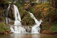 Travertínový vodopád v Lúčkach (foto: Tibor Rendek)